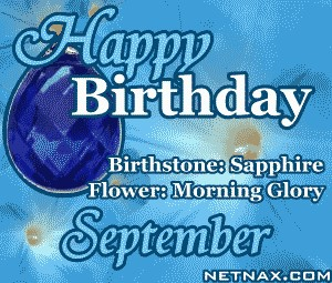 Happy Birthday September